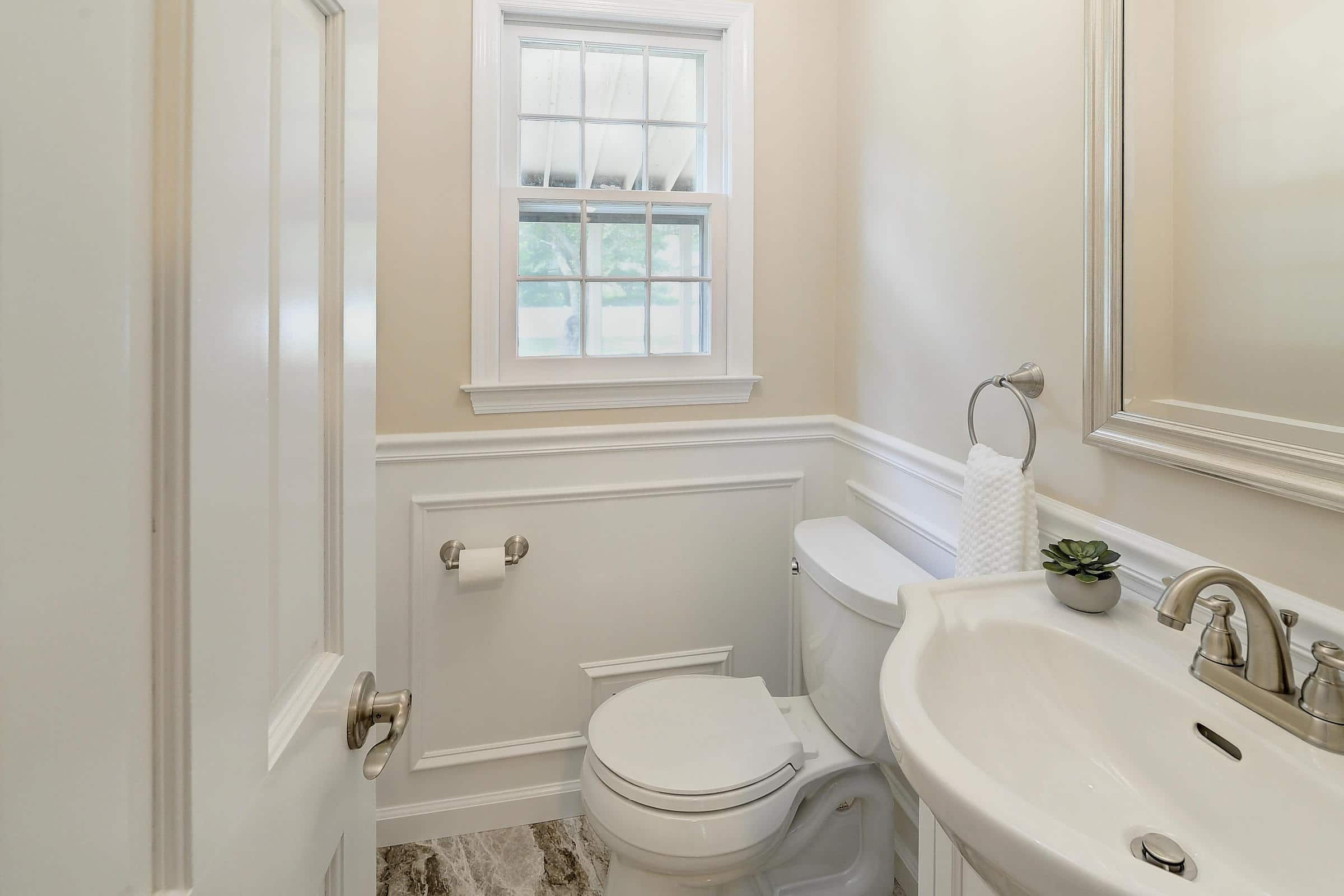 Princeton Junction Classic Powder Room
